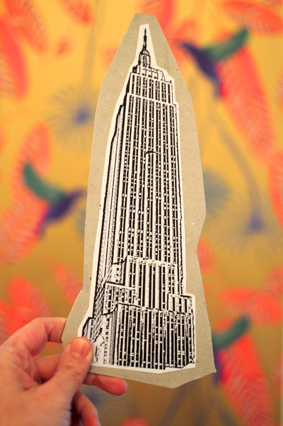 Be Creative #18 - Carboard skycraper, © Ines Häufler, 2011