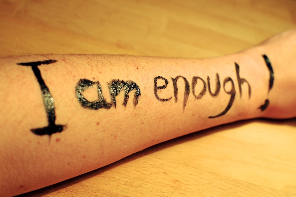 Be Creative #25 - I am enough!, © Ines Häufler, 2011