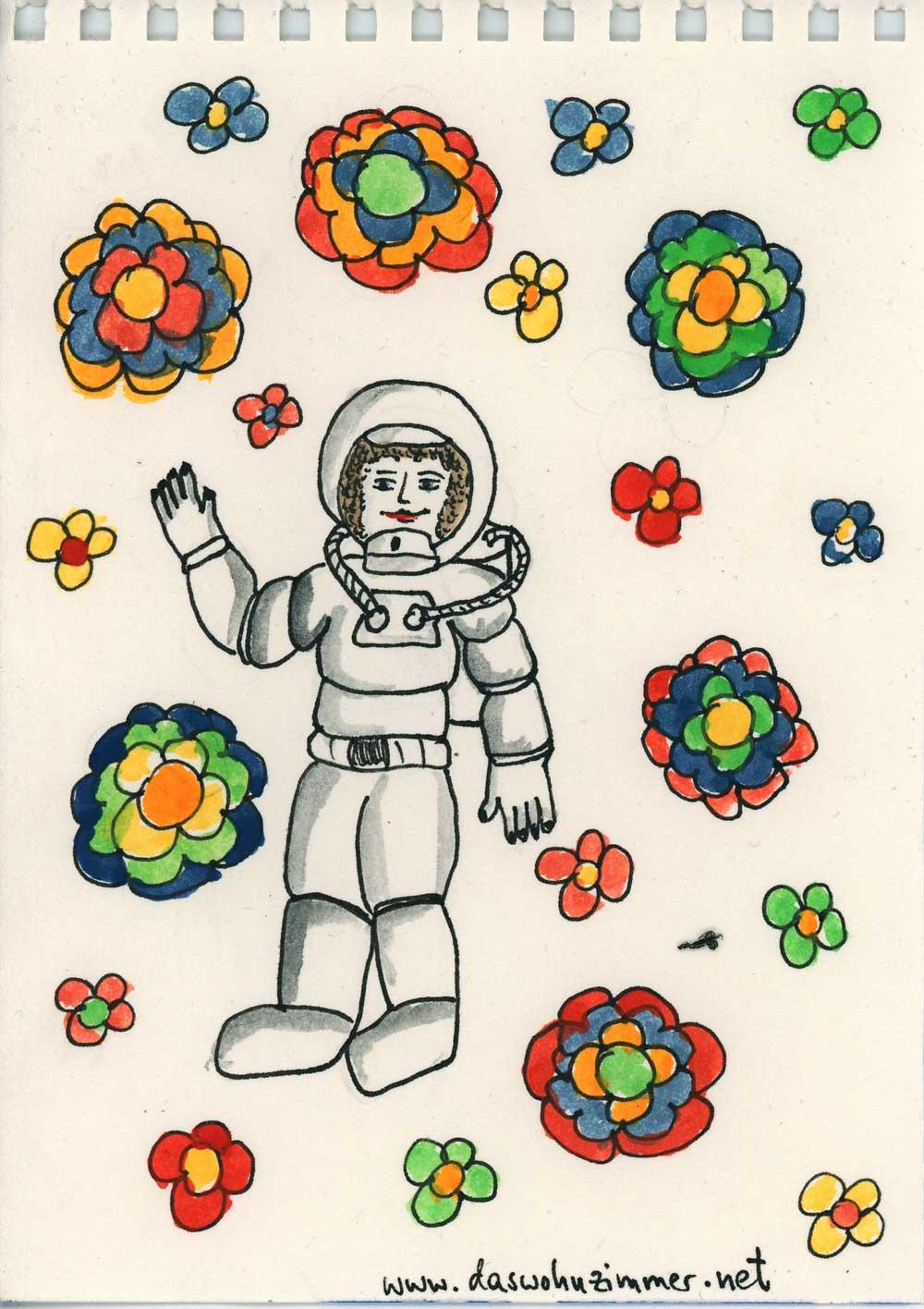 Be Creative #26 - Astronaut, © Ines Häufler, 2011