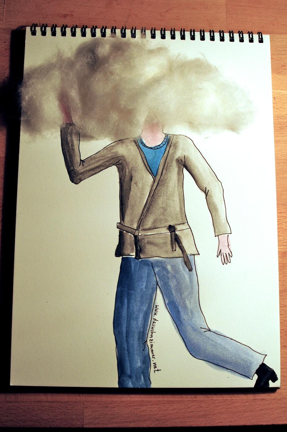Be Creative #27 - Feeling Cloudy, © Ines Häufler, 2011
