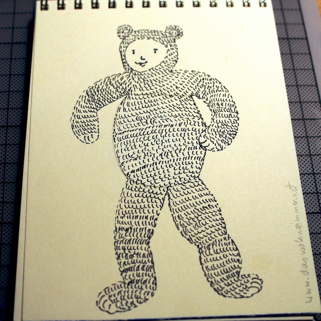 Be Creative #30 - Another bear, © Ines Häufler, 2011