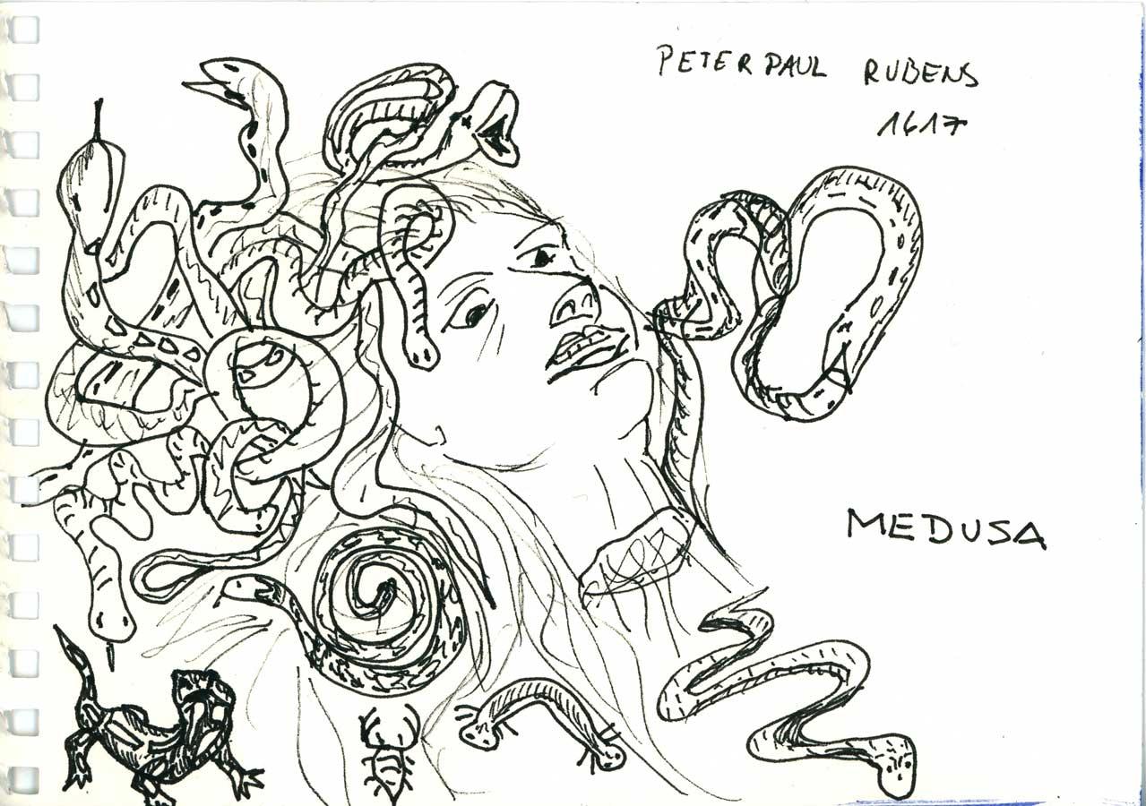 Be Creative #32 - Medusa, © Ines Häufler, 2011