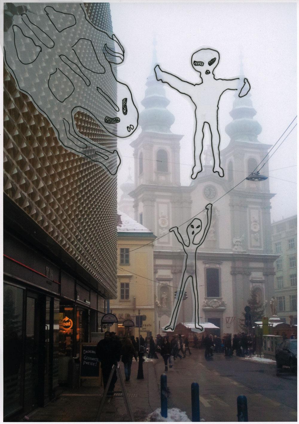 Be Creative #36 - creepy fogmonsters, © Ines Häufler