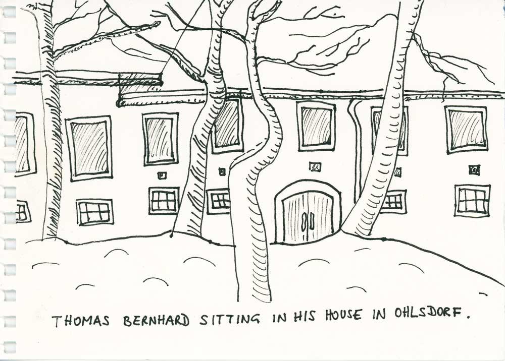 Be Creative #40 - Thomas Bernhard, © Ines Häufler, 2011
