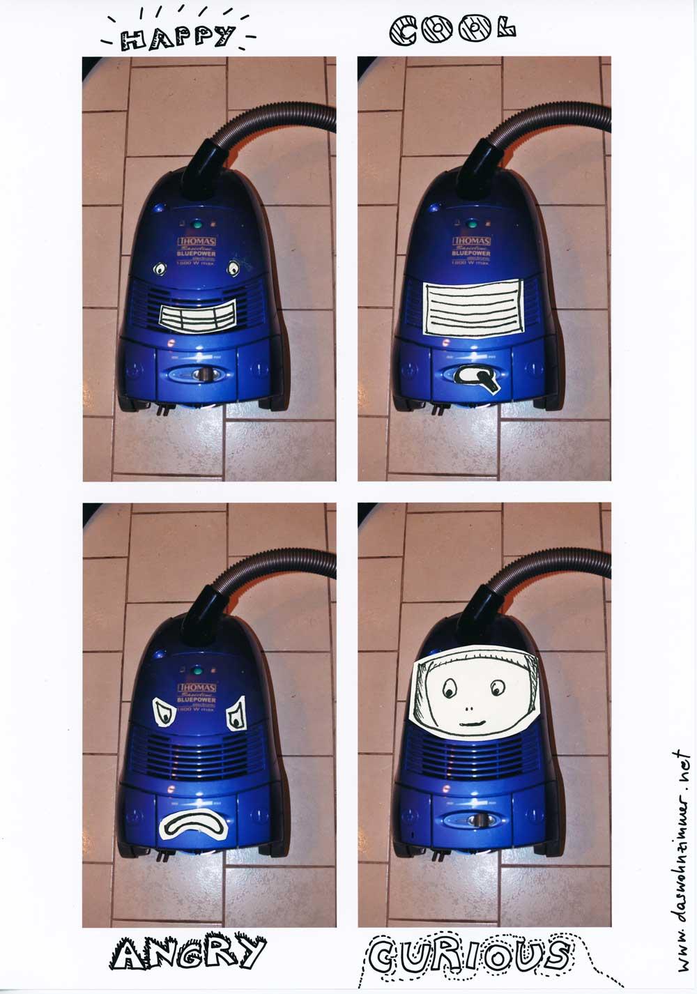 Be Creative #41 - Moody Vaccum cleaner, © Ines Häufler, 2011