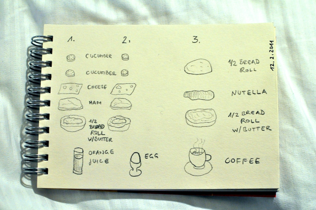 Be Creative #43 - Continental Breakfast, © Ines Häufler, 2011