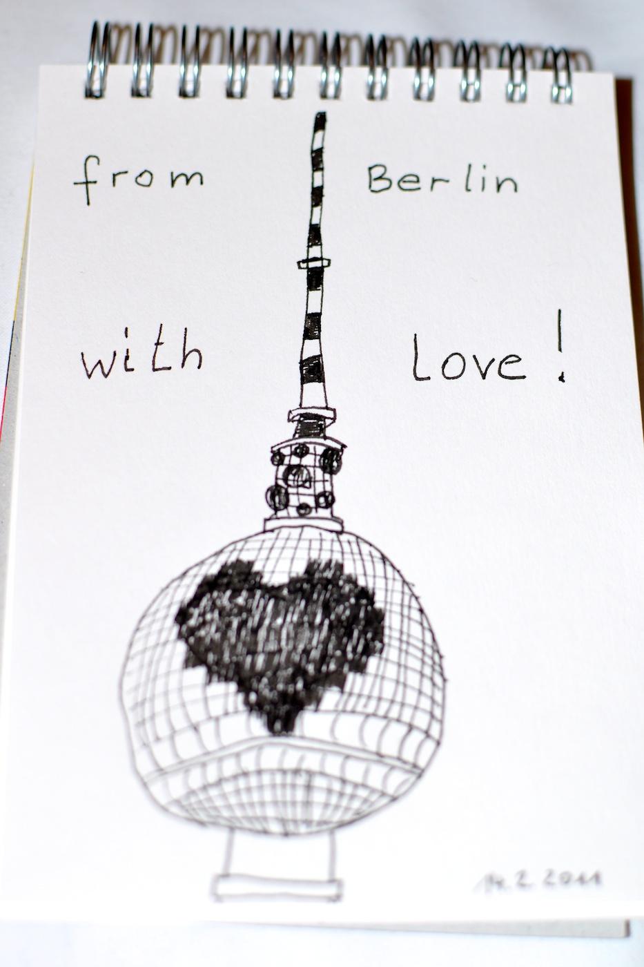 Be Creative #45 - From Berlin with love, © Ines Häufler, 2011