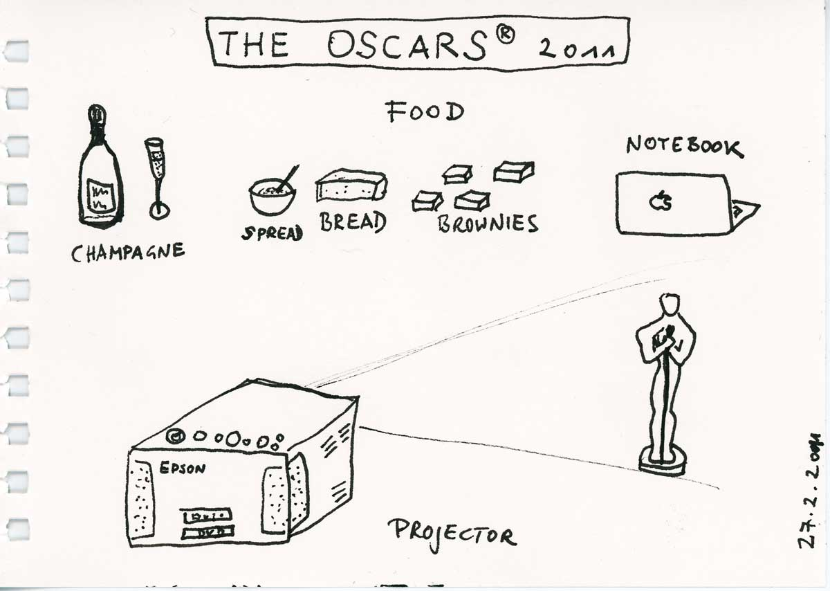 Be Creative #58 - The Oscars, © Ines Häufler, 2011