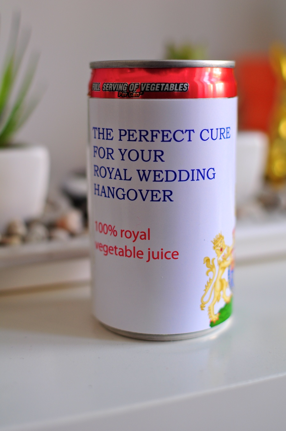 Be Creative #118 - Royal Wedding Hangover Cure, © Ines Häufler, 2011