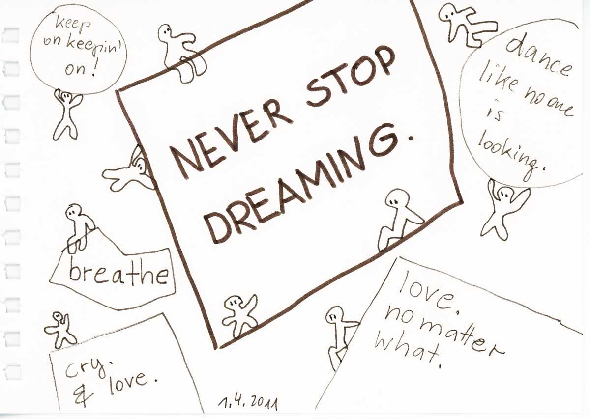 Be Creative #91 - slogans, ©  Ines Häufler, 2011