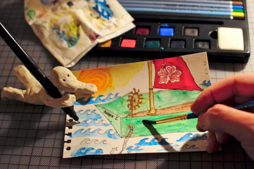 Be Creative #92 - Anouk's boat, © Ines Häufler, 2011