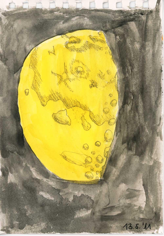 Be Creative 133 - Cheesy Moon, © Ines Häufler, 2011