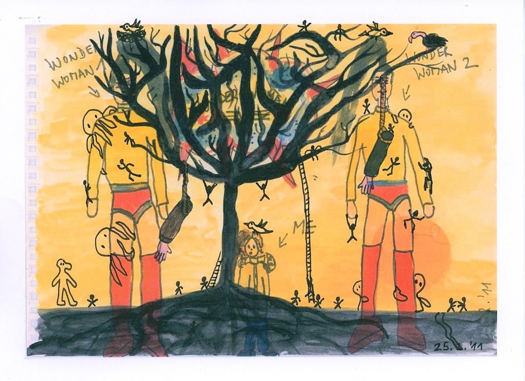 Be Creative #152 -  Double Exposure, © ines Häufler, 2011