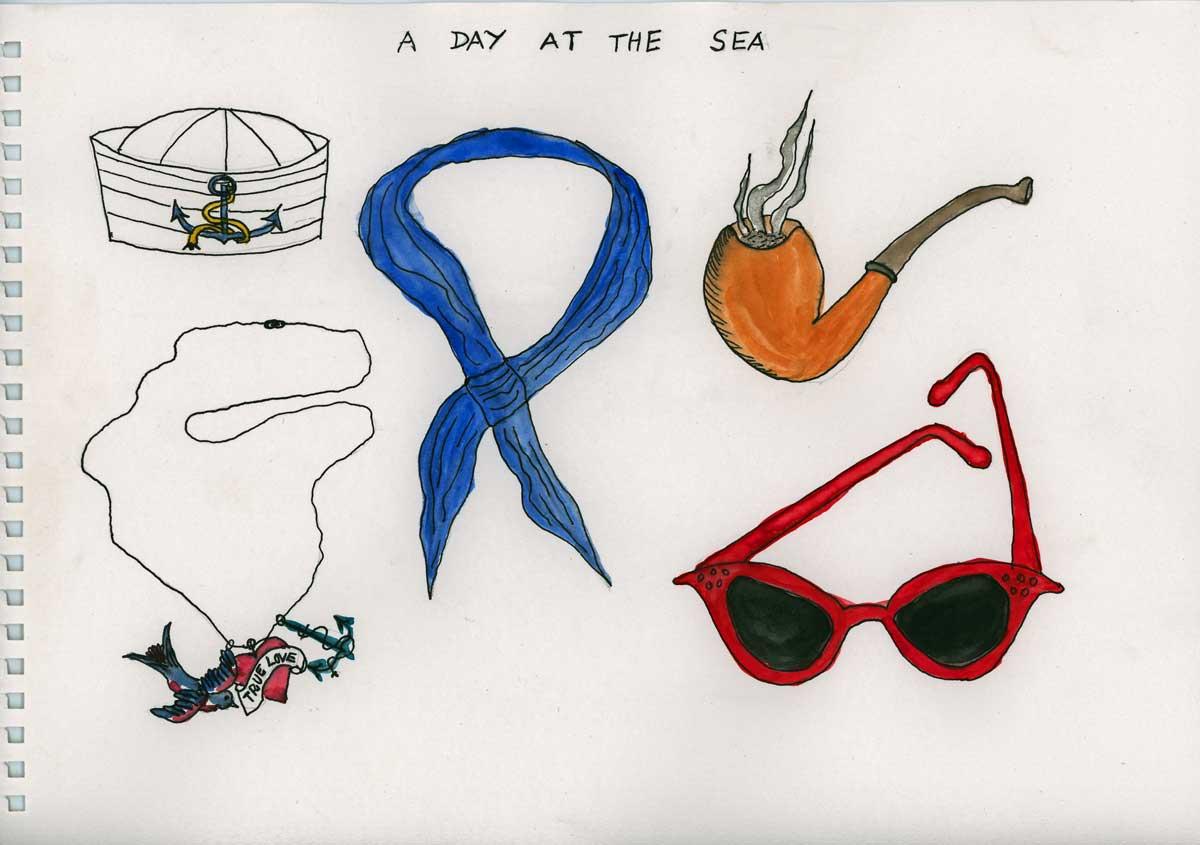 Be Creative #175 - A day at the sea, © Ines Häufler, 2011