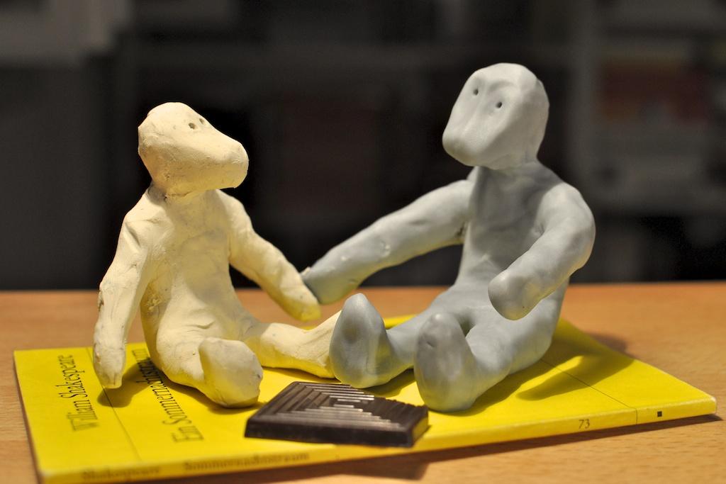 Be Creative #176 - Anouk and Finn, © Ines Häufler, 2011