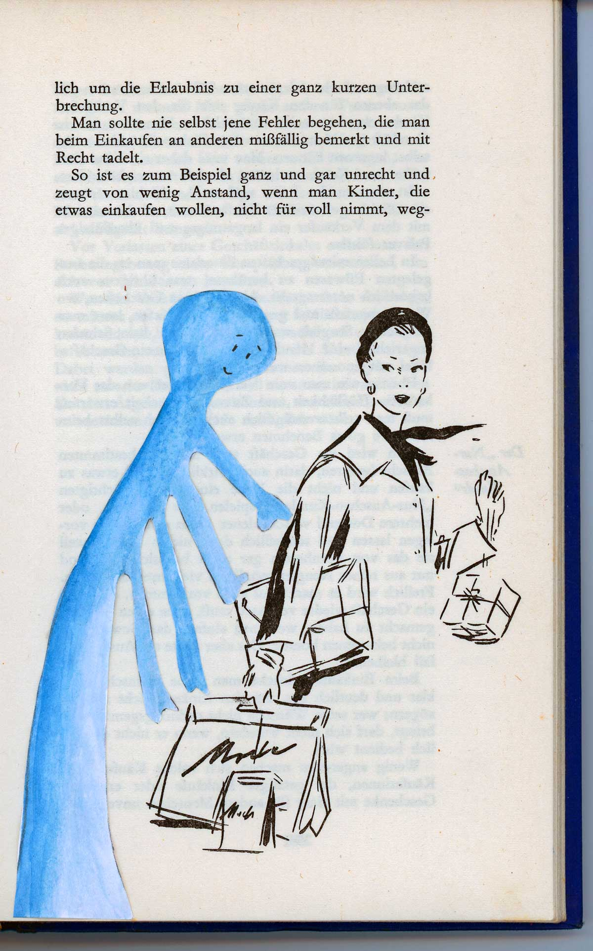 Be Creative #190 - Polite monsters go shopping, © Ines Häufler, 2011