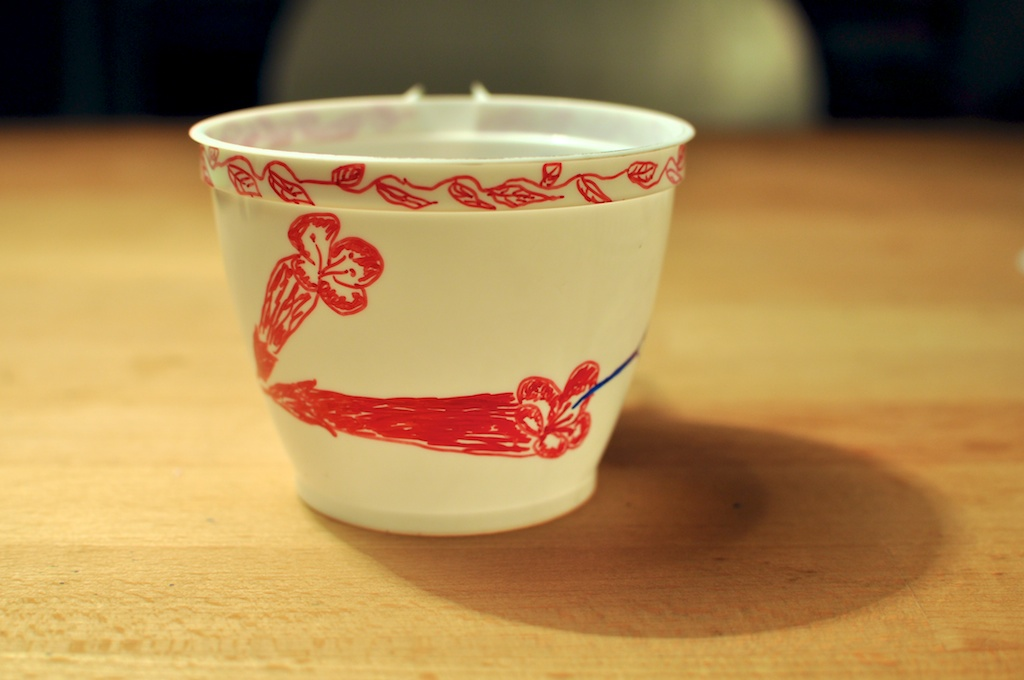 Be Creative #192 - Eco-friendly hummingbird cup, © Ines Häufler, 2011
