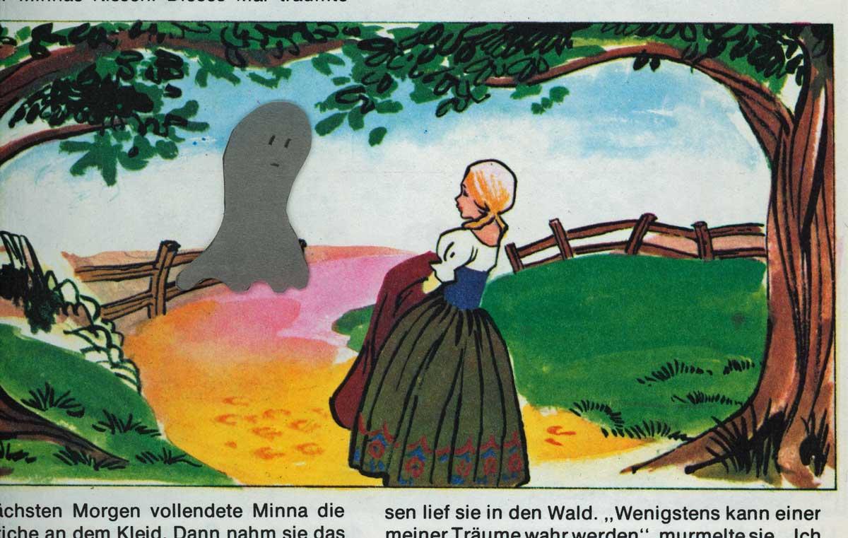 Be Creative #193 - Ghost tales, © Ines Häufler, 2011