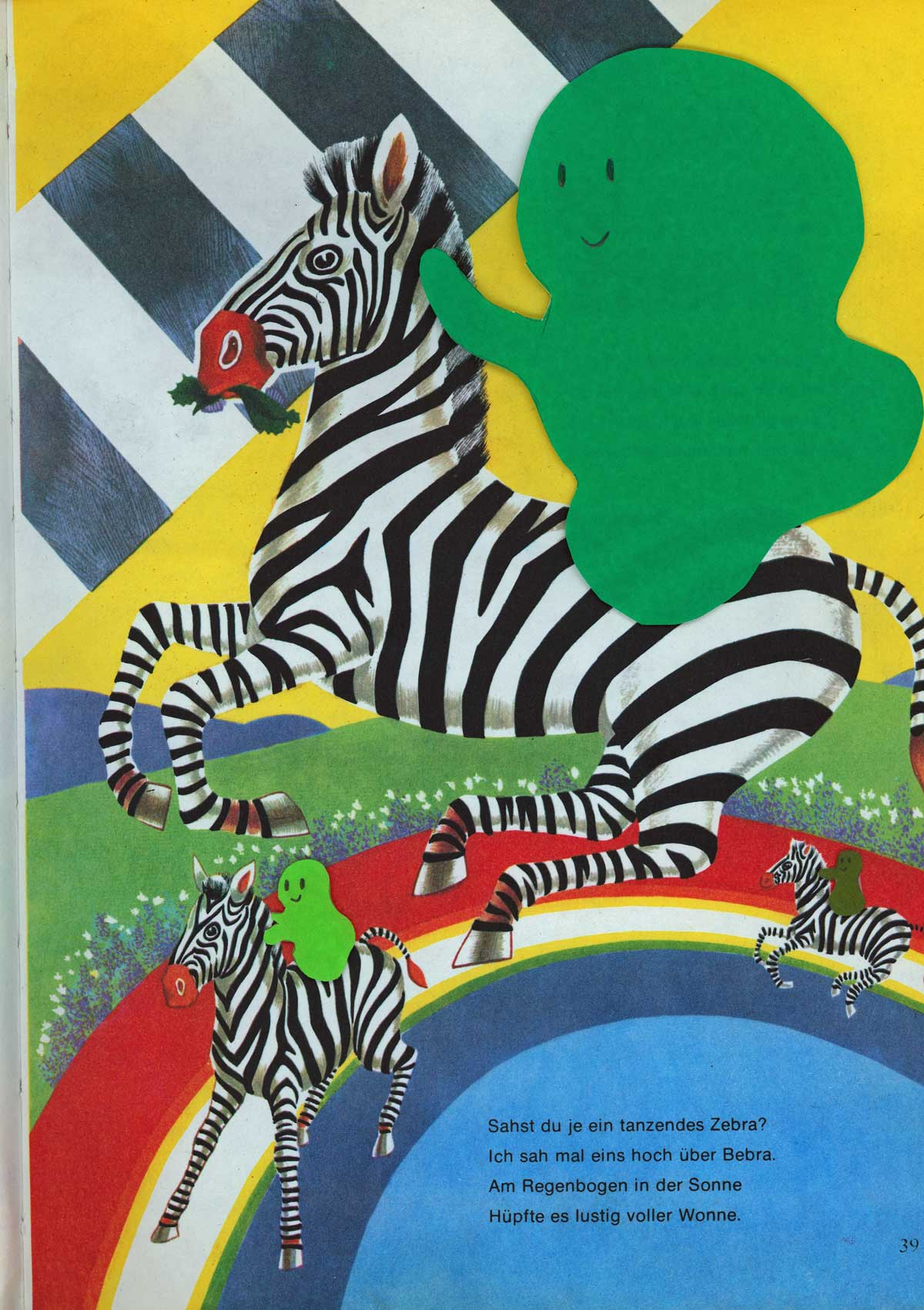 Be Creative #201 - Some ghosts are good at riding zebras, © Ines Häufler, 2011
