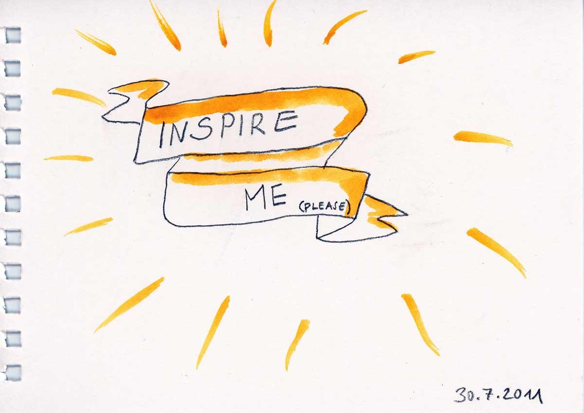 Be Creative #211, Inspire me!, © Ines Häufler, 2011