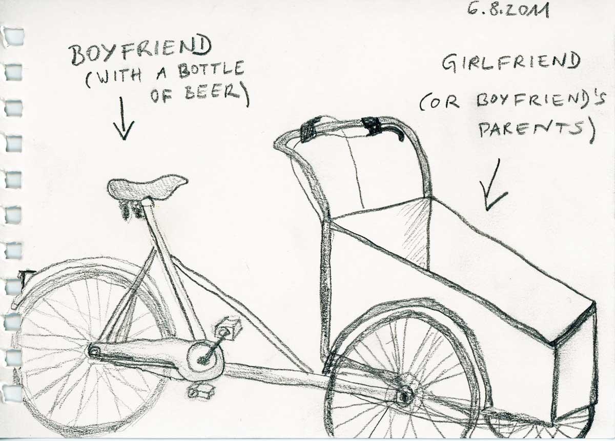 Be Creative #218 - Christiania Bike, © Ines Häufler, 2011
