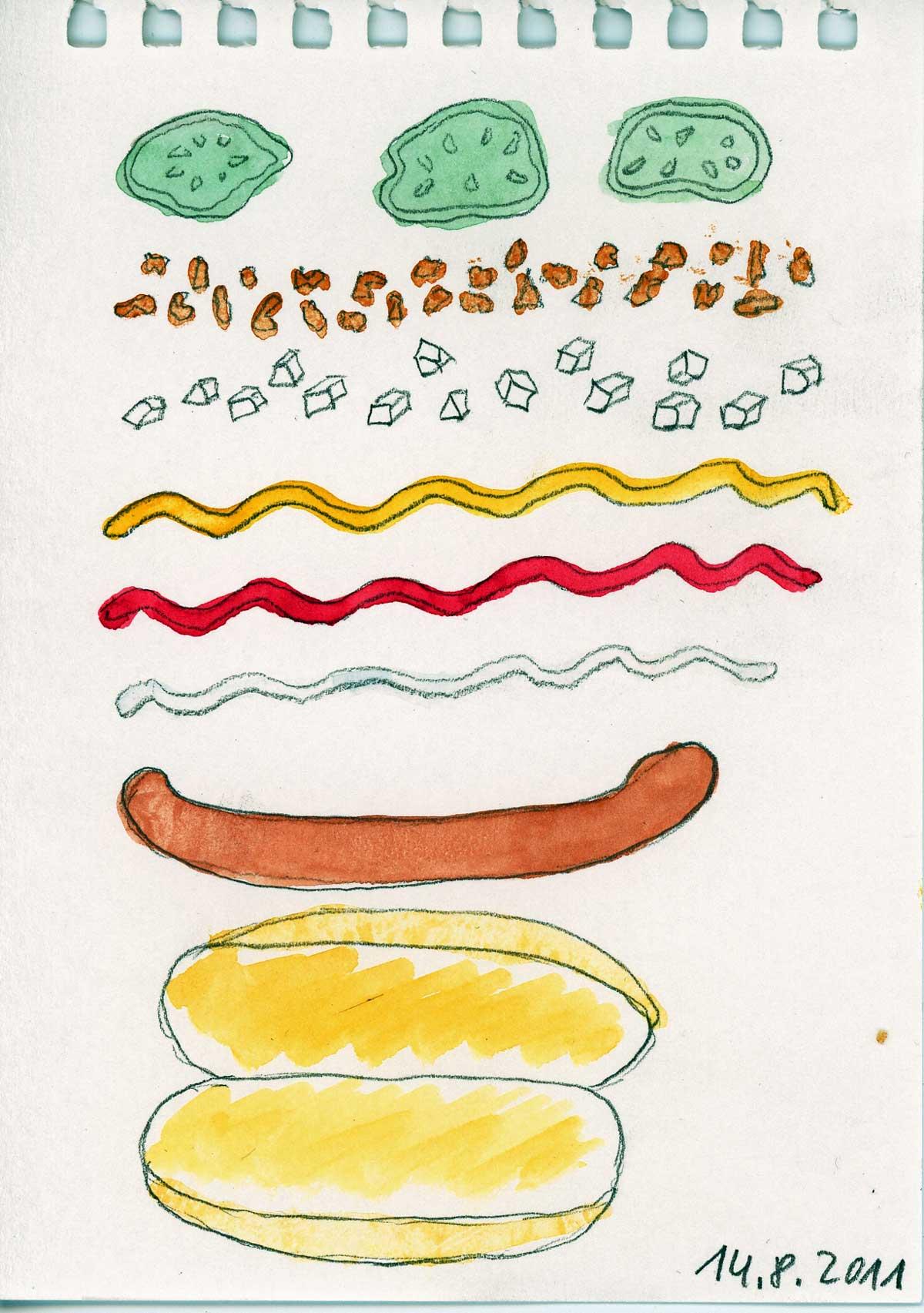 Be Creative #226 - A delicious Danish hot dog, © Ines Häufler, 2011