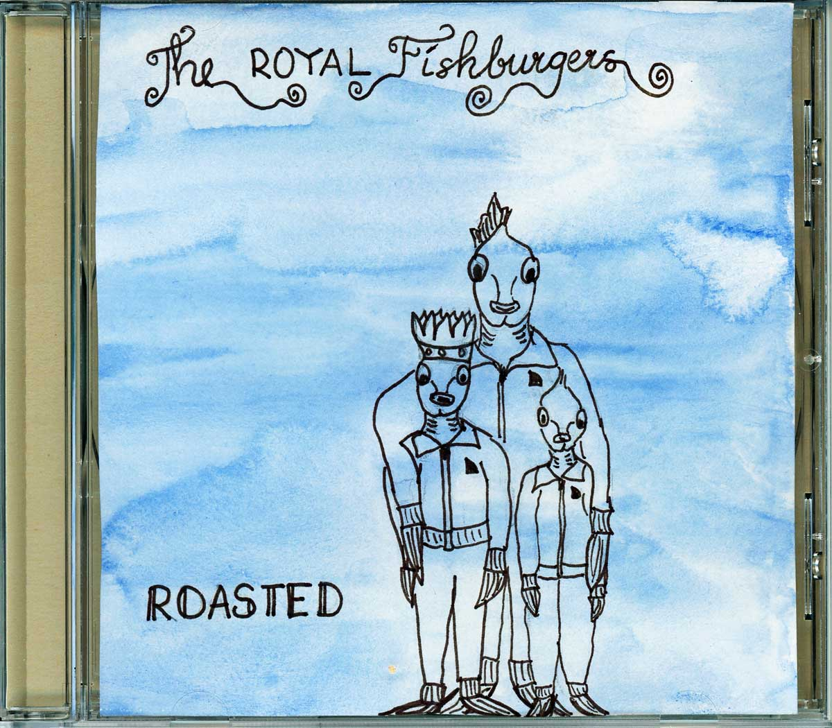 Be Creative 227 - The Royal Fishburgers, © Ines Häufler, 2011
