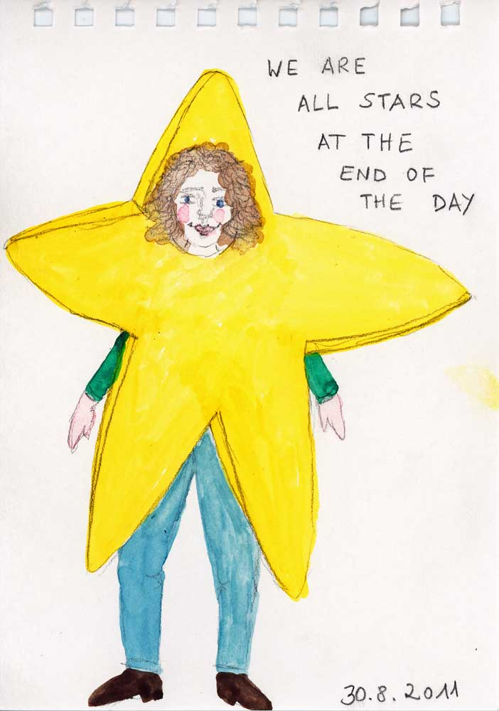 Be Creative #242 - We are all stars, © Ines Häufler, 2011