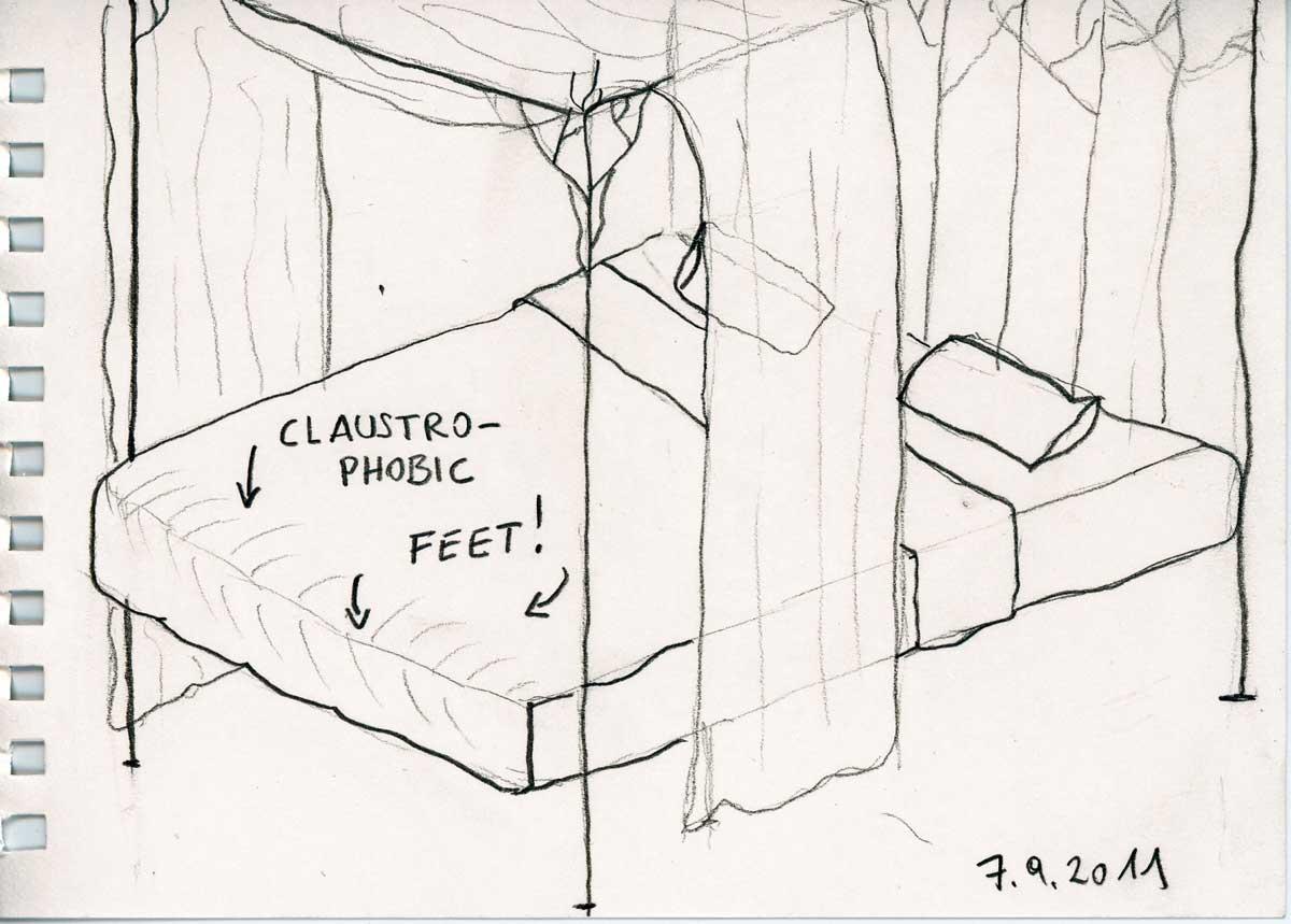 Be Creative #250 - Claustrophobic feet, © Ines Häufler, 2011