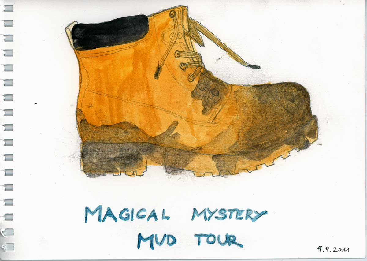 Be Creative #252 - A Magical Mystery Mud Tour, © Ines Häufler, 2011