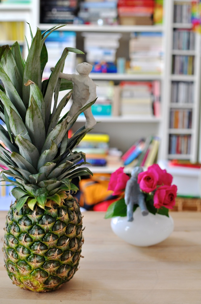 Be Creative #258 - Pineapples and roses, © Ines Häufler, 2011