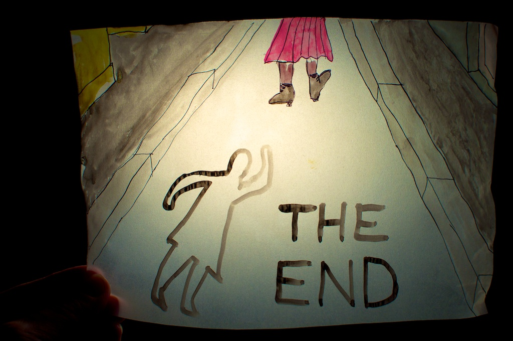 Be Creative #296 - The End, © Ines Häufler, 2011