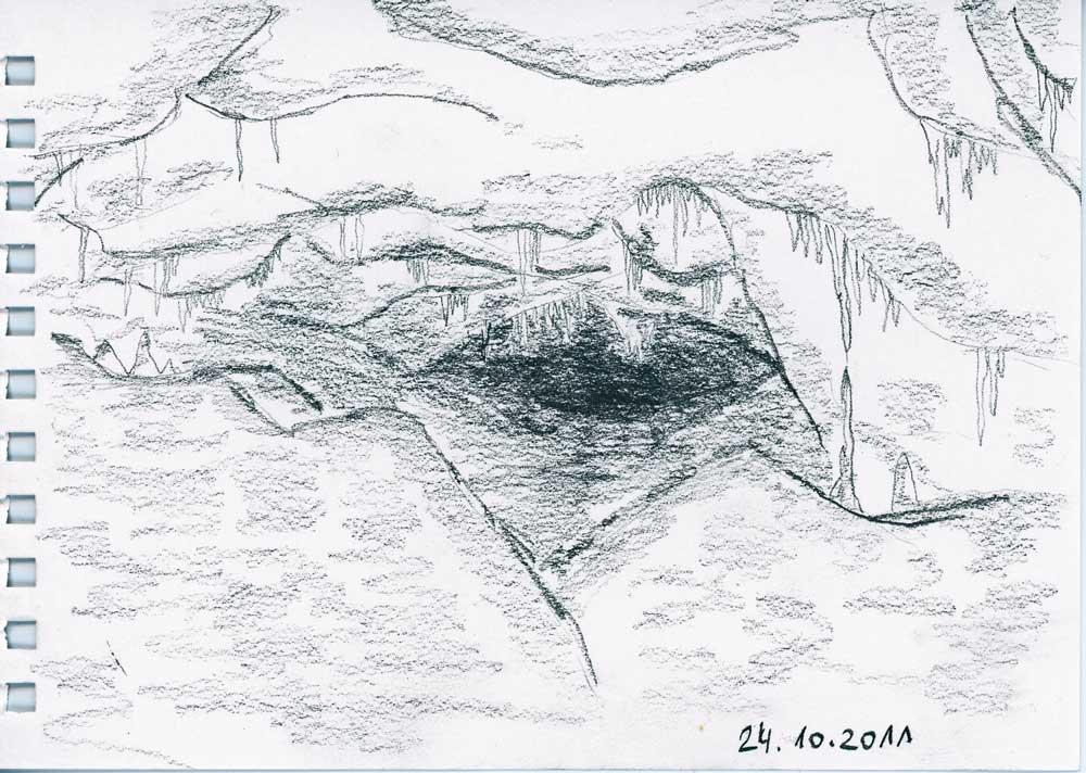 Be Creative #297 - The secrets of the cave, © Ines Häufler, 2011