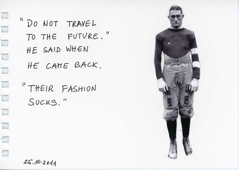Be Creative #298 - Future fashion sucks, © Ines Häufler, 2011