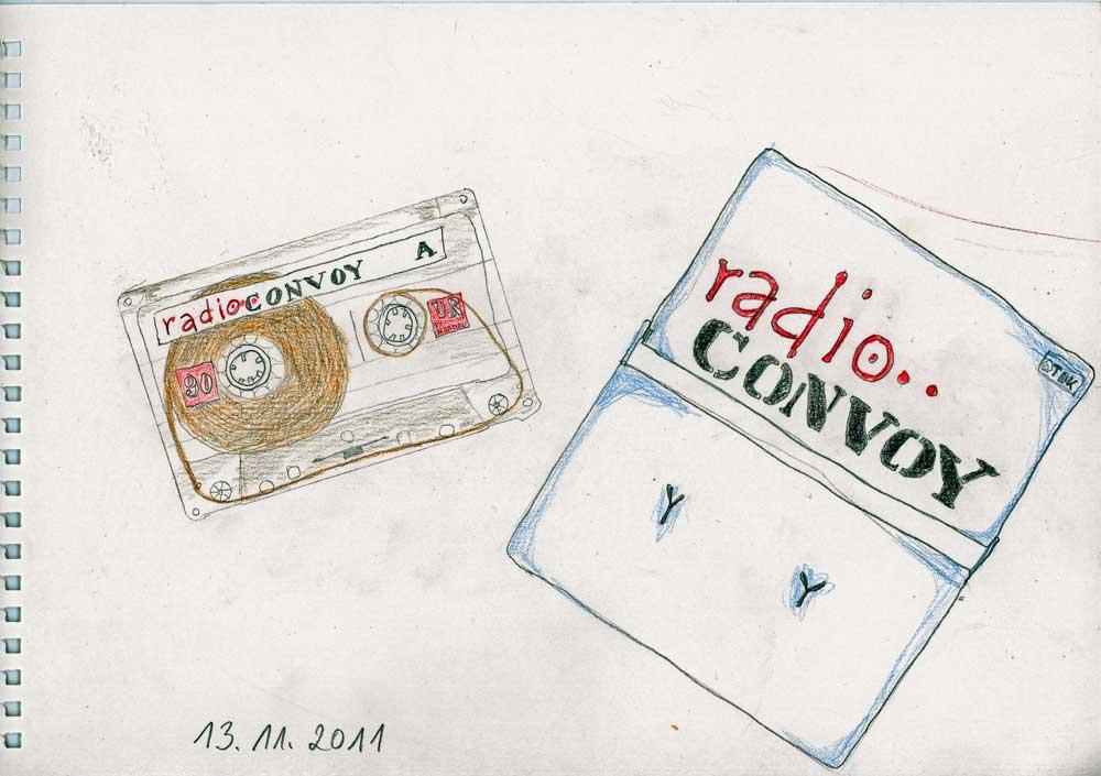 Be Creative #317 - Radio Convoy, © Ines Häufler, 2011