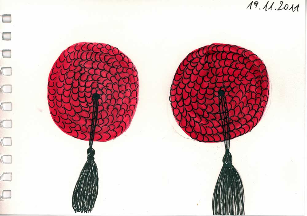 Be Creative #323 - time for pasties and tassels!, @ Ines Häufler, 2011