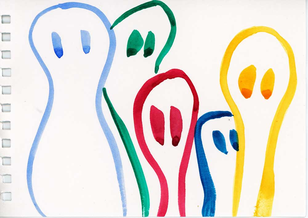 Be Creative #326 - Telephone doodles, © Ines Häufler, 2011