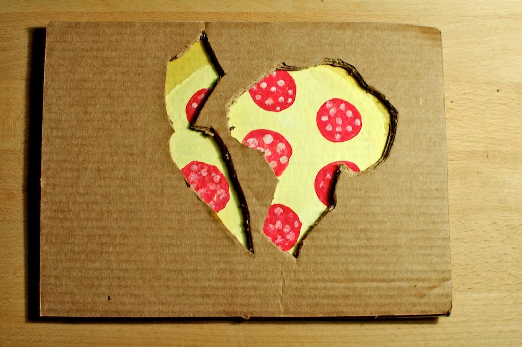 Be Creative #330 - Why pizza is healthy, © Ines Häufler, 2011