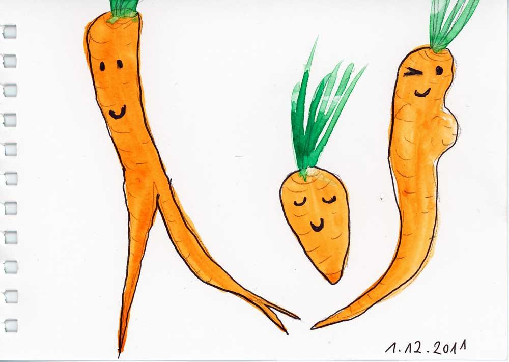 Be Creative #335 - Carrot disco!, © Ines Häufler, 2011