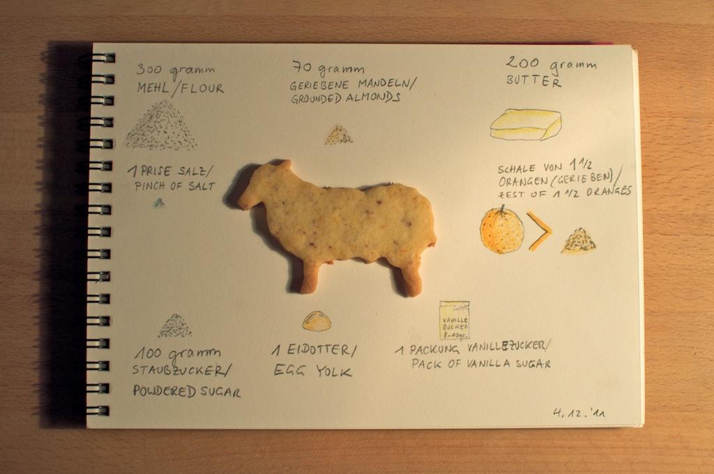 Be Creative #338 - Orange Christmas Cookies, © Ines Häufler, 2011