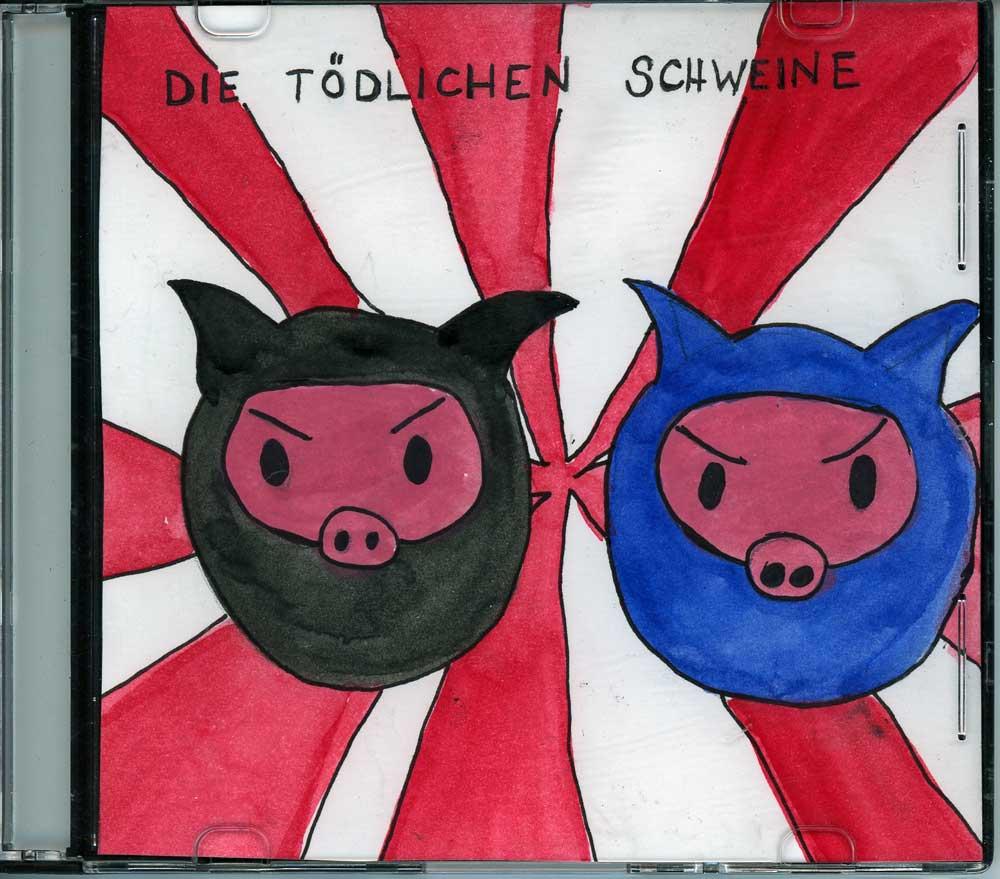 Be Creative #340 - Die tödlichen Schweine, © Ines Häufler, 2011