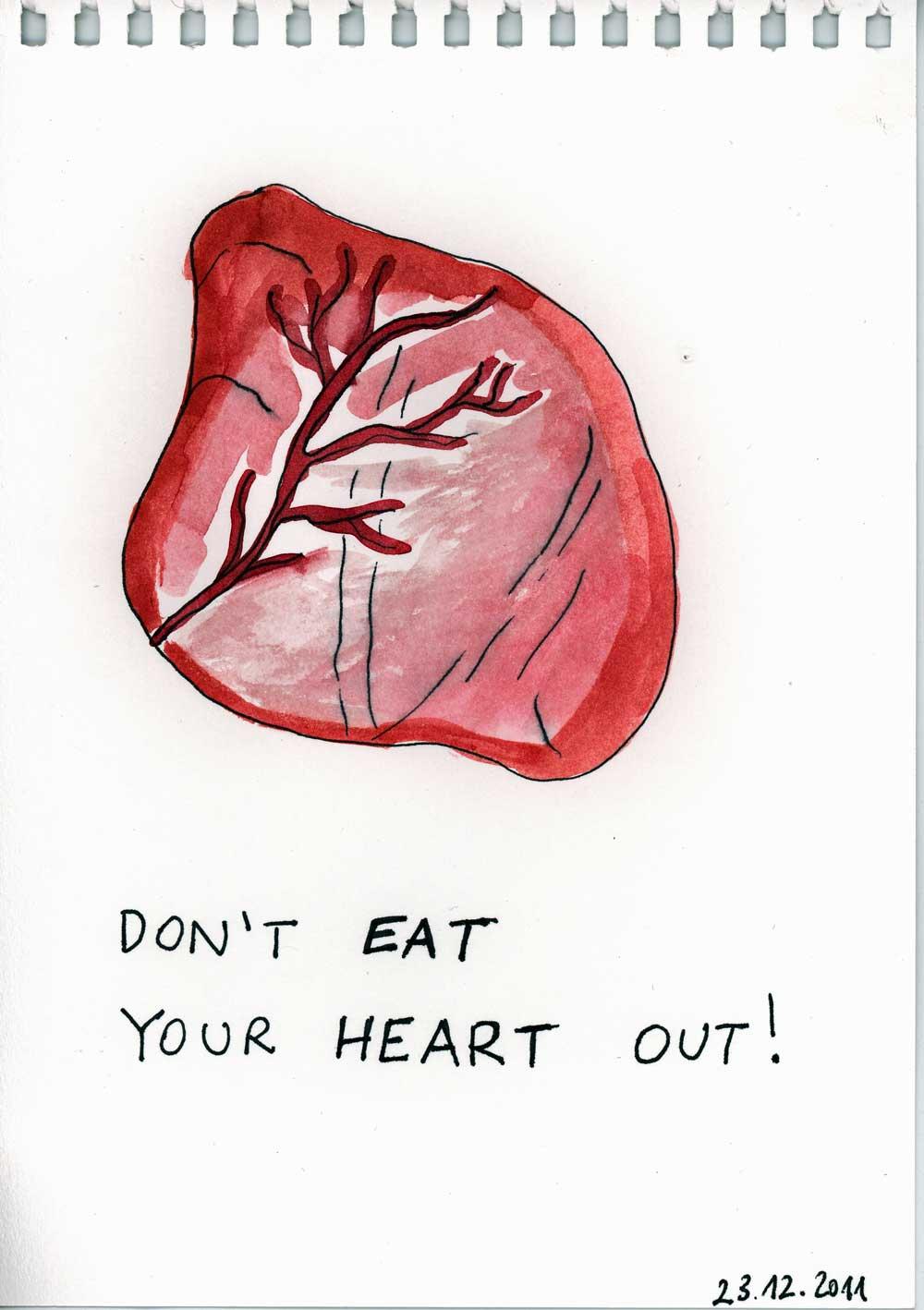 Be Creative #357 - Calf hearts, @ Ines Häufler, 2011