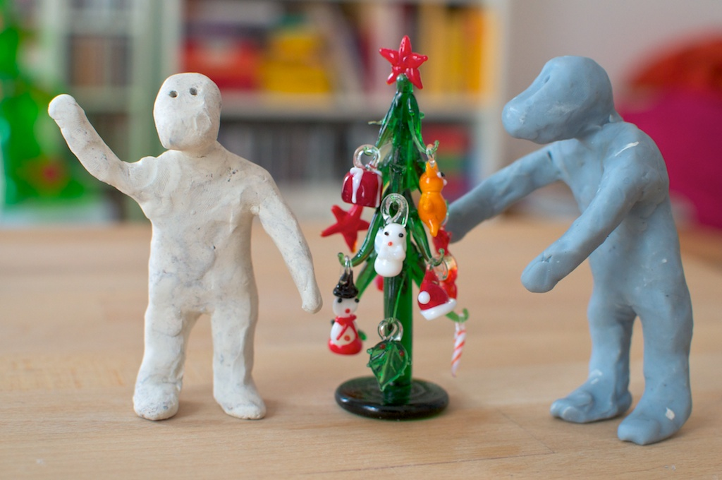 Be Creative #358 - Merry Christmas from Anouk and Finn!, © Ines Häufler, 2011