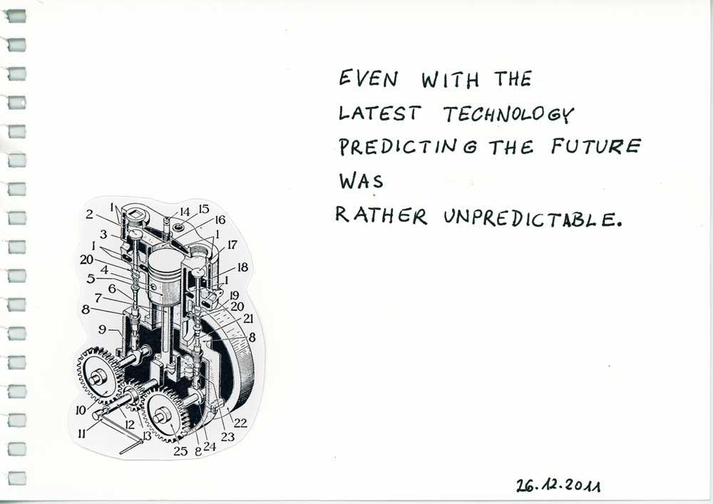 Be Creative #360 - Looking into the future, © Ines Häufler, 2011