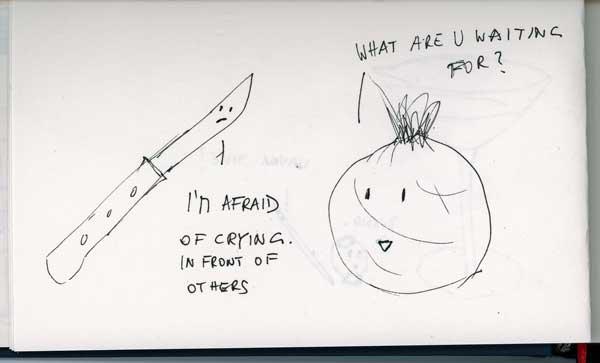 Be Creative - Week #4: Kitchen Sink Dramas (Sketches), © Ines Häufler, 2012