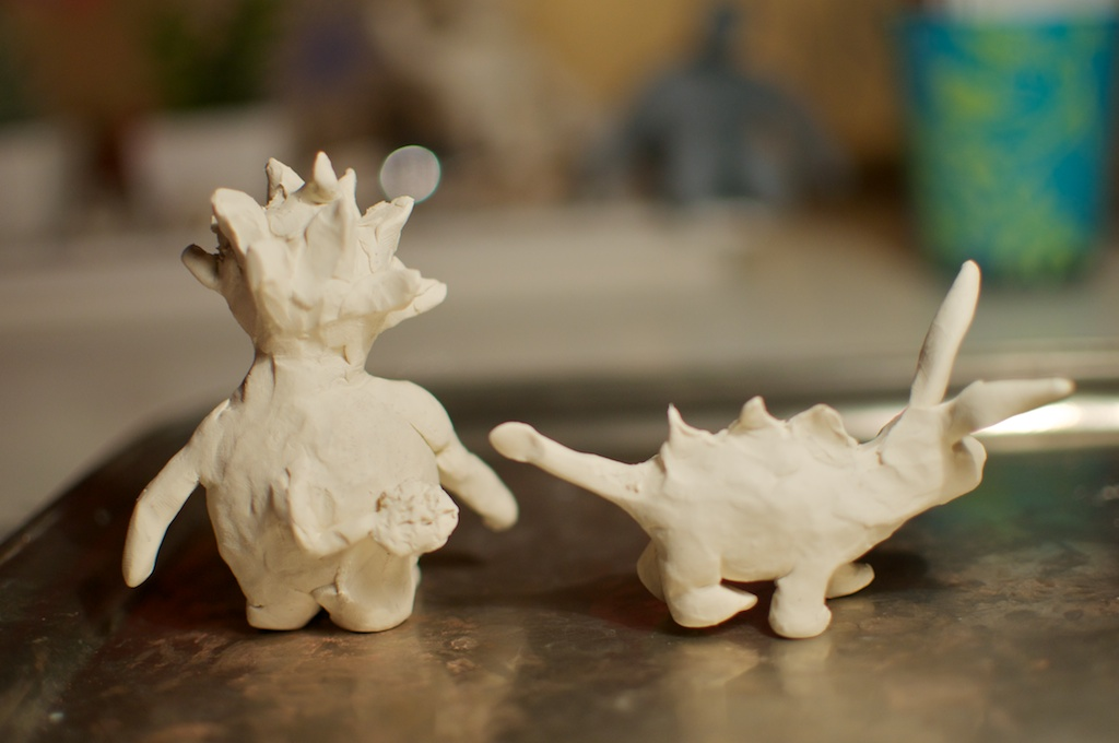 Be Creative - Week #2: The Dream Eater and Tonraq, © Ines Häufler, 2012