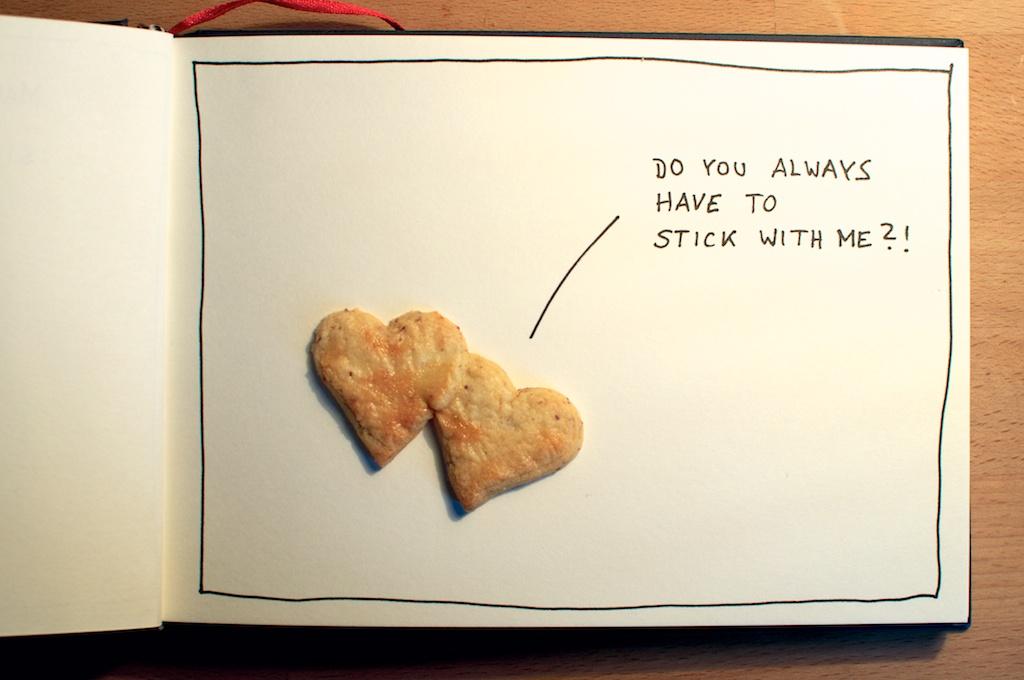 Talking Cookies: Sticky Heart // be creative 2012 // ©Ines Häufler