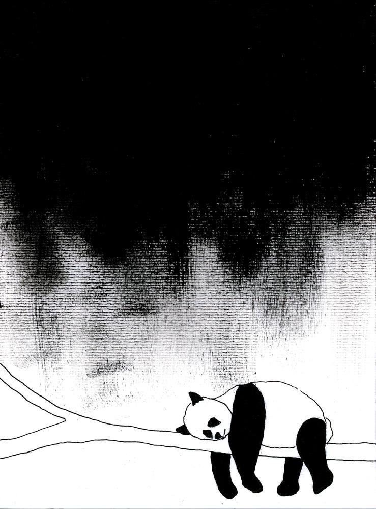 Be Creative - I'm A Sad (And Very Tired) Panda; © Ines Häufler, 2013