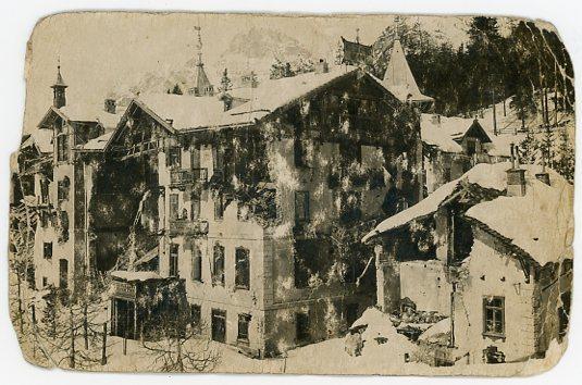 Monte Piano, Postkarte, 1914/15