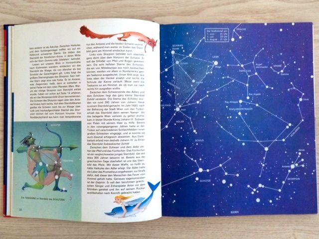 Meyers großes Sternenbuch für Kinder, 1981, Sternenbilder